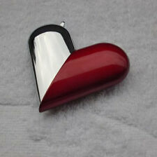 Windproof Heart Shape Deformable Gas Refillable Smoking Cigarette Lighter
