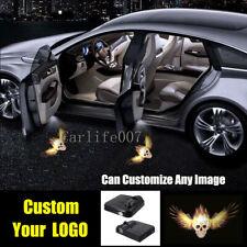 2PCS Customize Wireless Car Door Logo LED Projector light Laser Shadow Lamp