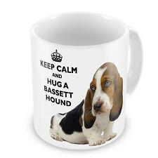 Keep Calm And Hug A Bassett Hound Coffee / Tea Mug - FREE UK POST