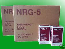 (10,63€/kg)2 Kartons NRG-5 Notnahrung, Notverpflegung, Survival,Langzeitnahrung