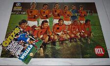 FOOTBALL ONZE N°23 1977 HOLLANDE PLATINI LENS BASTIA BARONCHELLI BERDOLL CHINE