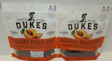 Duke's Hickory Peach BBQ Smoked Shorty Sausages ~2 Bag Pack~