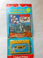 Fisher Price Spellbinder Tapes The American Revolution 1982 NOS in package