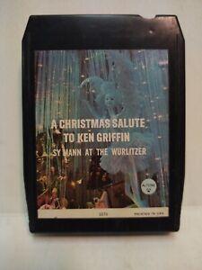 Ken Griffin A Christmas Salute Altone Eight 8 Track Tape et153