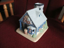 Partylite Village Bakery House Cottage Tealight candle holder Christmas decor
