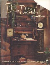Designs For Decorative Living Tole Painting Book NSTDP 1987 Home Decor