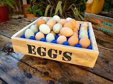 Wooden Egg Box Products For Sale Ebay