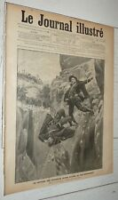 JOURNAL ILLUSTRE 1900 CHASSEUR ALPIN - DRESDE - INDOCHINOIS PARIS - PIGEONS
