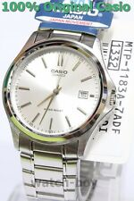 MTP-1183A-7A Silver Casio Watch Stainless Steel Band Date Display Analog Japan