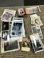 Antique Black & White Photograph Lot &  early color ones also - nice assortment