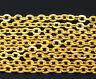 1m Chaine maille Forçat chainette Doré 3mm x 2,5mm petit maillon creation bijoux