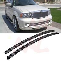 AAL 2005-2006 Lincoln Navigator Bumper Bolton Billet Grille Insert Replacement