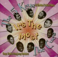 FIVE KEYS MEET THE CUES 2CD - Vocal Groups, Doo Wop, 1950s rock 'n' roll - NEW