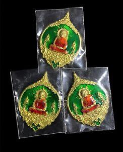 PACK  3 Buddha amulets LP  Father Phat Punyakamo Asia Amulets Thailand