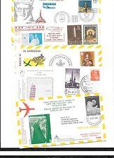 Vatican-5 good/attractive special flight covers-1965/1970/1977