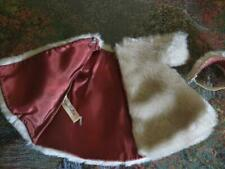 "Vintage (50's), Tagged Vogue, Faux Fur Coat & Headpiece for 9"" -12"" Dolls"