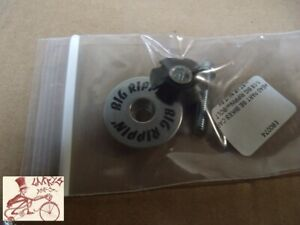 """SE BIKES BIG RIPPIN SILVER 1-1/8"""" BICYCLE HEADSET STARNUT  ASSEMBLY"""