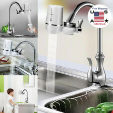 Tap Water Filter Kitchen Sink Bathroom Mount Filtration Faucet Purifier System