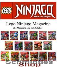 LEGO Ninjago Magazine vollständig mit Zubehör - Ausgabe 1 bis Aktuell !!!