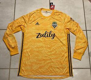 NWT ADIDAS Seattle Sounders FC MLS 2019 Goalkeeper Jersey Men's XL