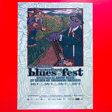 Waterfront Blues Fest 2016 Original 18x25.5 Concert Poster. Portland Oregon.