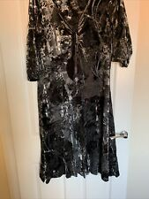 Per Una M & S Velvet Dress Size 20 Fit And Flare