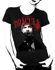 Universal Monsters Bela Lugosi Is Dracula Black Baby Doll T-Shirt, NEW UNWORN