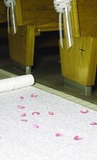 NEW White Floral Aisle Runner Wedding Hortense B Hewitt