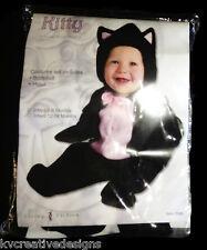 Kitty Cat Kitten Plush Living Fiction Baby Infant Halloween Costume 0-9 M New