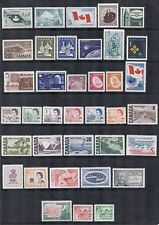 Canada 1965, 1966, 1967 Year Set - Commemorative & Definitive - MNH Fresh*