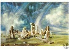 Constable - Stonehenge - MEDICI POSTCARDS