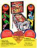 SWINGER Original FLYER Pinball Machine Promo WILLIAMS 1972 Brochure Ad Slick