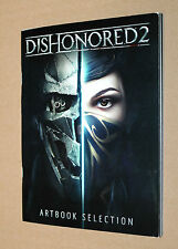 Dishonored 2 Artbook Selection rare Promo PS4 Xbox one