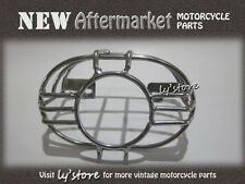 [195.2] HONDA C50 C65 C70 C90 CM90 CM91 S90 CL90 CT90 TAIL LIGHT GUARD [CHROME]