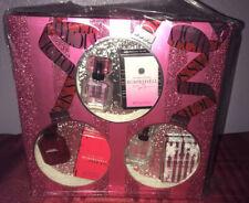 NIB Victoria's Secret Bombshell Trio Perfume Gift Set Holiday Bombshell Intense