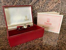 VINTAGE 1964 Rolex TUDOR 9K Gold Hand Winding Watch Original Box & Certificate