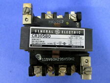 GENERAL ELECTRIC CONTACTOR CR305B0 SIZE 0 115V 60Hz OR 95V 50Hz