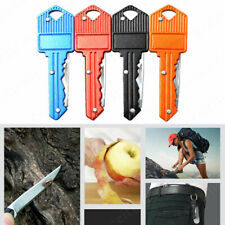 Mini Key Shaped Stainless Steel Blade Keychain Pocket Portable Folding Knif*
