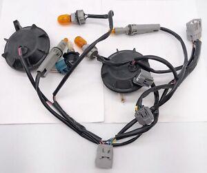 2x OEM 11-19 Mitsubishi Outlander Sport Xenon Light Wiring Harness Bulbs