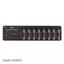 KORG USB MIDI controller NANO KONTROL 2 Black Japan Free Shipping with Tracking