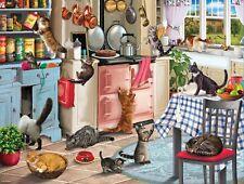 Rectangular Jigsaw - Cats In The Kitchen