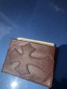 chrome hearts card holder wallet