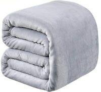 "Richave Fleece Blanket Twin Size 350GSM Lightweight Throw Extra Soft (66""x90"")"