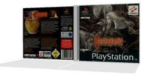 Castlevania Symphony Of The Night PS1 Replacement Single Jawel Case + Cover Art