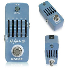 Mooer Graphic G 5-Band Graphic EQ Guitar Equalizer Effect Pedal True Bypass MEQ1