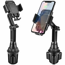 Universal Adjustable Car Cup Holder Cell Phone Mount Cradle - Apple Samsung LG