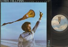 CHRIS HILLMAN Clear Sailin' LP 1977 UK Related BYRDS Flying Burrito Brothers