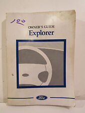 1996 Ford Explorer Owner's Guide, Capacities, Specifications, Controls, Features