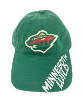 Minnesota Wild Official NHL Reebok One Size Fit All Adjustable Hat Cap New