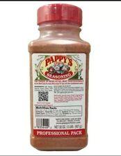2 Bottles of Pappys  Choice Seasoning 4 LB Free Shipping